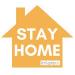 Logotipo STAY HOME quédate en casa