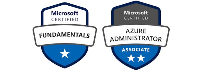 Certificaciones Azure fundamentals y adminsitrator