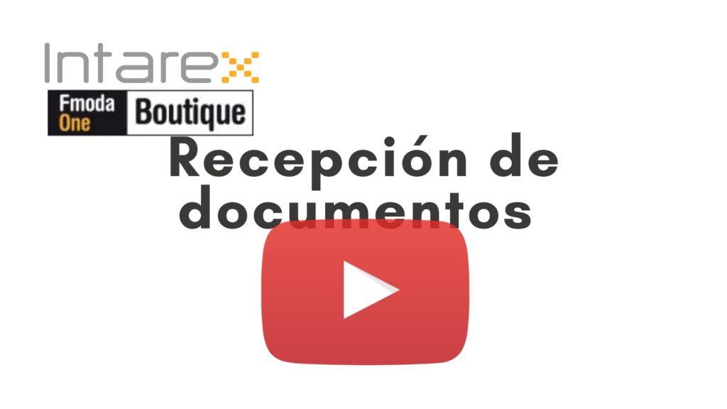 tutorial recepción de documentos iboutique